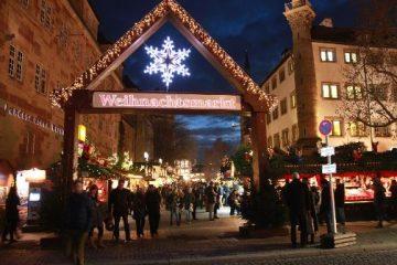 Wildwasser Stuttgart e.V. Wildwasser beim Feuerbacher Weihnachtsmarkt